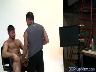 Hot Gay Hunk Cum Sprayed