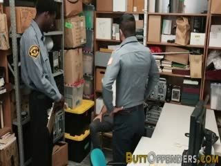 Teen Shoplifter In 3way