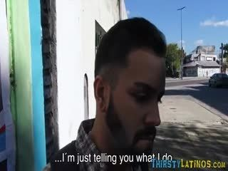 Bearded Straight Latino