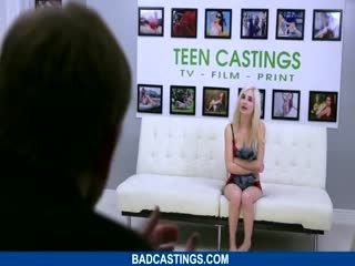 Blondie Gets Fucked Rough On Casting