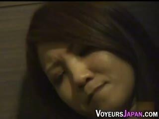 Japanese Babe Rubs Clit