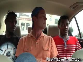 Black Guys Jizz In 3some