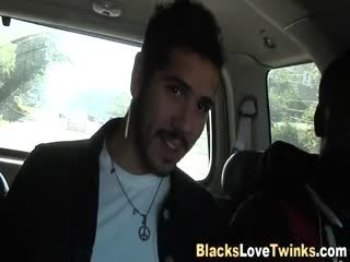 Ebony Hunk Gives Facial