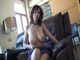 Money After Sperm Redhead Babe