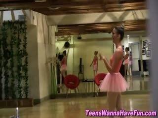 Teen Ballerina Eats Pussy