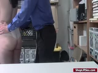 Shoplifter Released After Getting Fucked