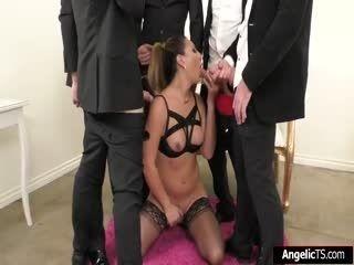 Busty Kinky Ts Chanel Santini Gangbanged