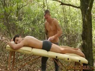 European Masseur Sucking