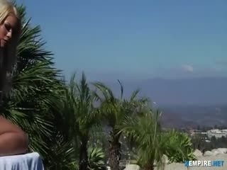Voluptuous Blonde Gets Her Ass Fucked