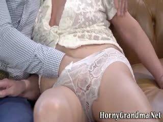 Grans Floppy Tits Jizzed