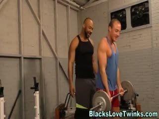 Black Dude Slams Butt