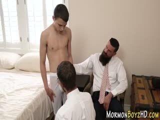 Gay Mormon Teen Fucks Ass