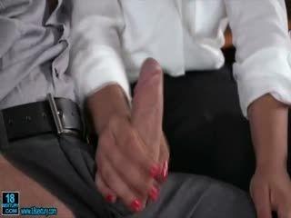 Horny Babe Enjoys Hardcore Double Penetration