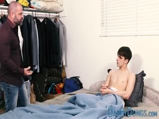 Amateur Gay Stepson Cums