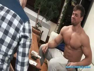 Horny Dude Enjoys Hardcore Masturbation