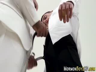 Old Mormon Bishop Fucking