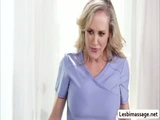 Uma Enjoys Eating MILF Brandis Wet Pussy