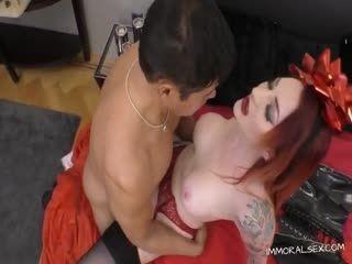Redhead Pornstar Loves Getting Fucked In Pov