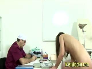 Horny Doctor Enjoys Fucking His Teen Patients Hard