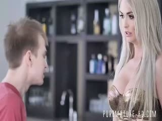 Sexy Blonde Milf With Big Tits Loves Anal Sex