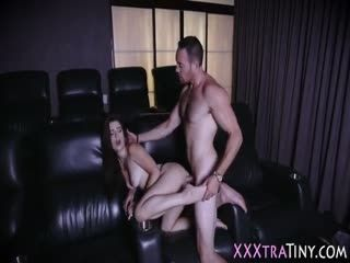 Petite Slut Gets Facial