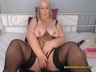 Chubby Blonde An Eyeful Breasts And Breathtaking Cam Show