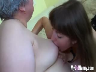 Horny Granny Has Some Fun With Teen Couple