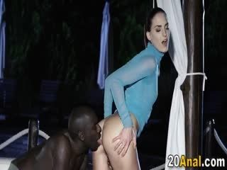 Erotic Cutie Gets A Bbc Anal Fucking