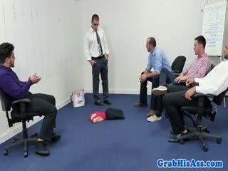 Bossman Fucks His Employees Literally