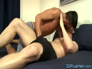 Gay Stud Getting Fingered And Ass Fucked