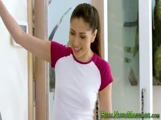 Latina Hottie Giving Sexy Massage