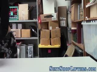 Latina Shoplifter Spermed