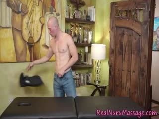 Kinky Masseuse Sucking And Riding