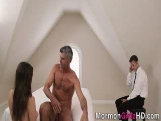 Cock Tugging Teen Mormon