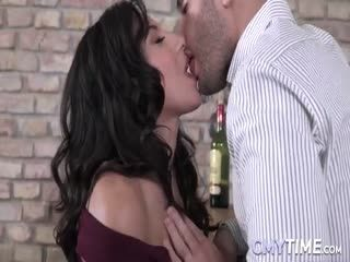 Brunette Teen Gets Fucked In Threesome