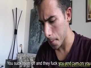 Straight Latinos Sucking And Tugging