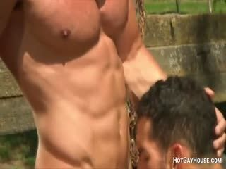 Gay Dudes With Lots Of Muscles Fucking Hard