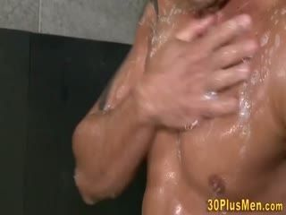 Horny Gay Jock Riding And Sucking Cock