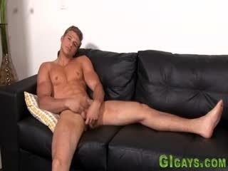 Straighty Tugging Dick