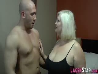 Busty Granny Enjoys Fucking With A Big Hard Cock