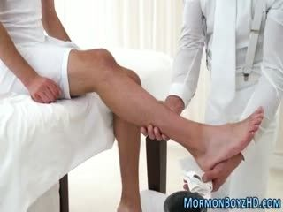 Creampied Religious Hunk Getting Banged