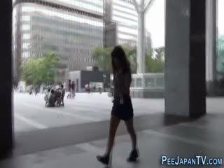 Fetish Japanese Teenager Peeing