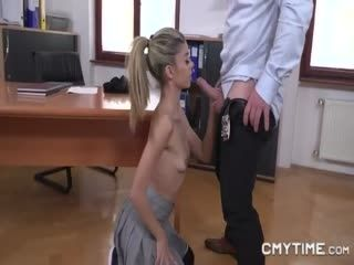 Petite Teen Gets Her Asshole Ruined