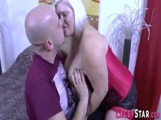 Big Titted Blonde GILF Fucked Hard