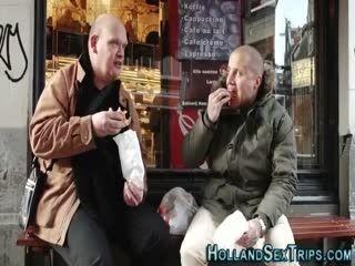 Cock Tugging Hooker Railed