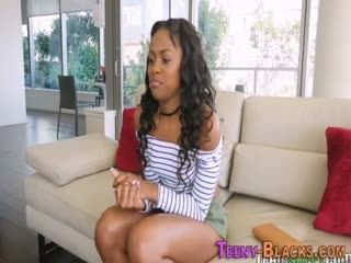 Black Booty Teenager Screwed Doggystyle