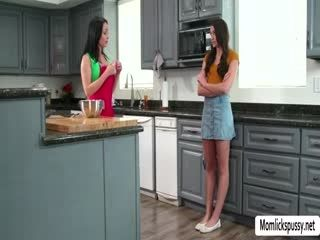 Crystal Rush And Avi Loves Intense Sex In The Kitchen