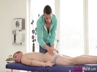 Real Masseur Sucks Dudes Cock And Plows