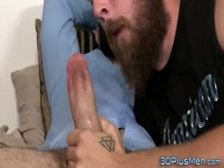 Gay Dude Rides Big Hard Dick
