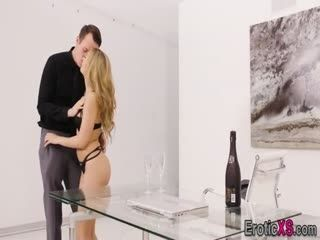 Glam Beauty Gets Pounded And Ass Spermed
